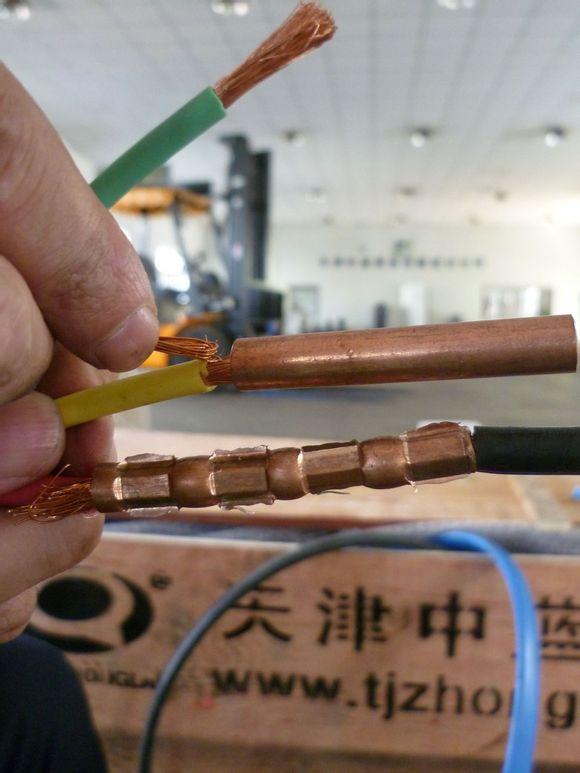 电缆接线方法 图片展示步骤